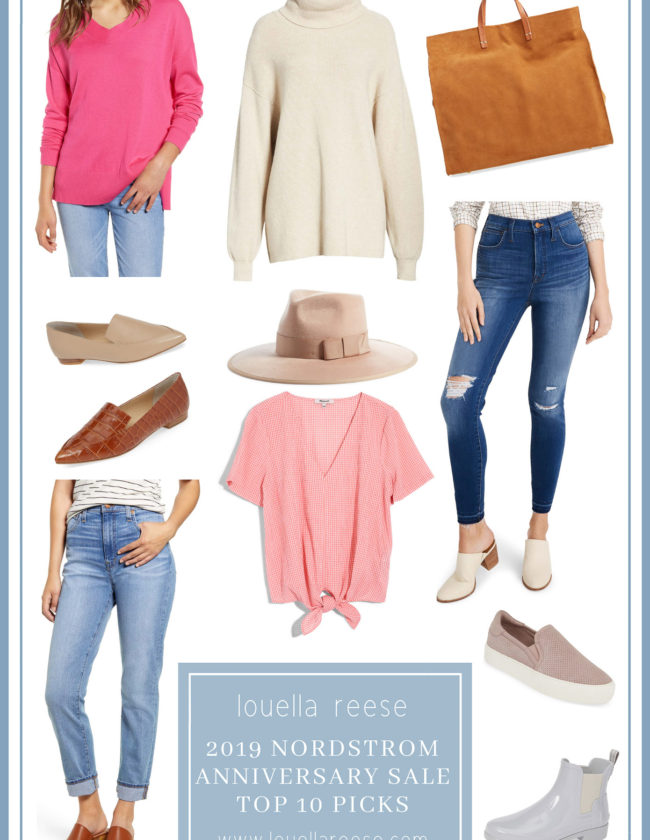 2019 Nordstrom Anniversary Sale Top Ten Picks | Best Items from the 2019 Nordstrom Anniversary Sale | Louella Reese