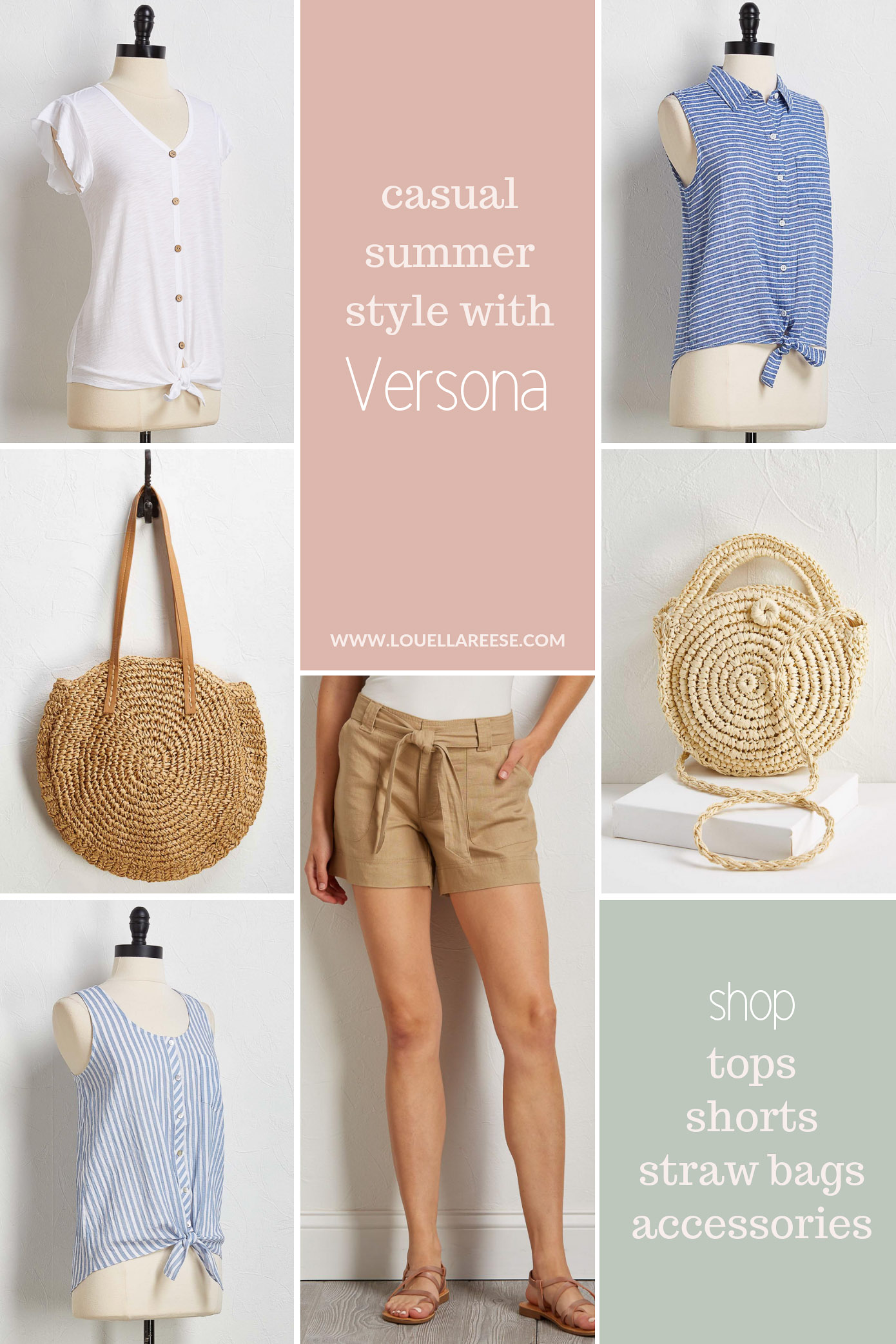 Affordable Casual Summer Style | Louella Reese