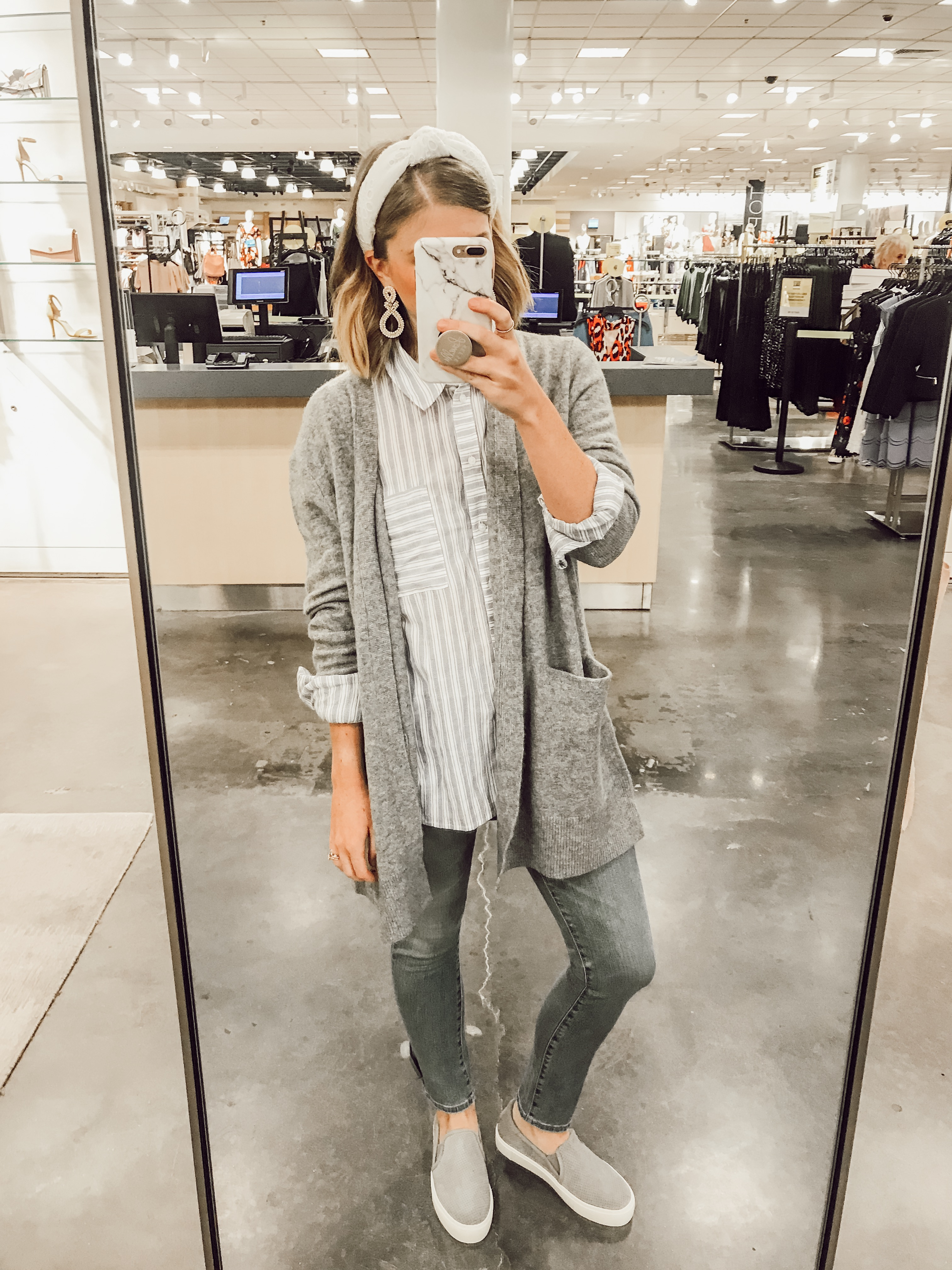 Madewell Ryder Sweater | 2019 Nordstrom Anniversary Fitting Room Session featured on Louella Reese Life & Style Blog