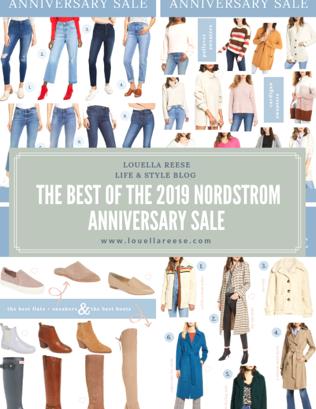 The BEST of the 2019 Nordstrom Anniversary Sale | Louella Reese