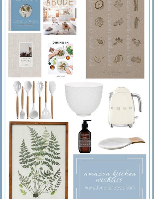 Amazon Kitchen Wish List | Amazon Kitchen Decor Finds | Louella Reese