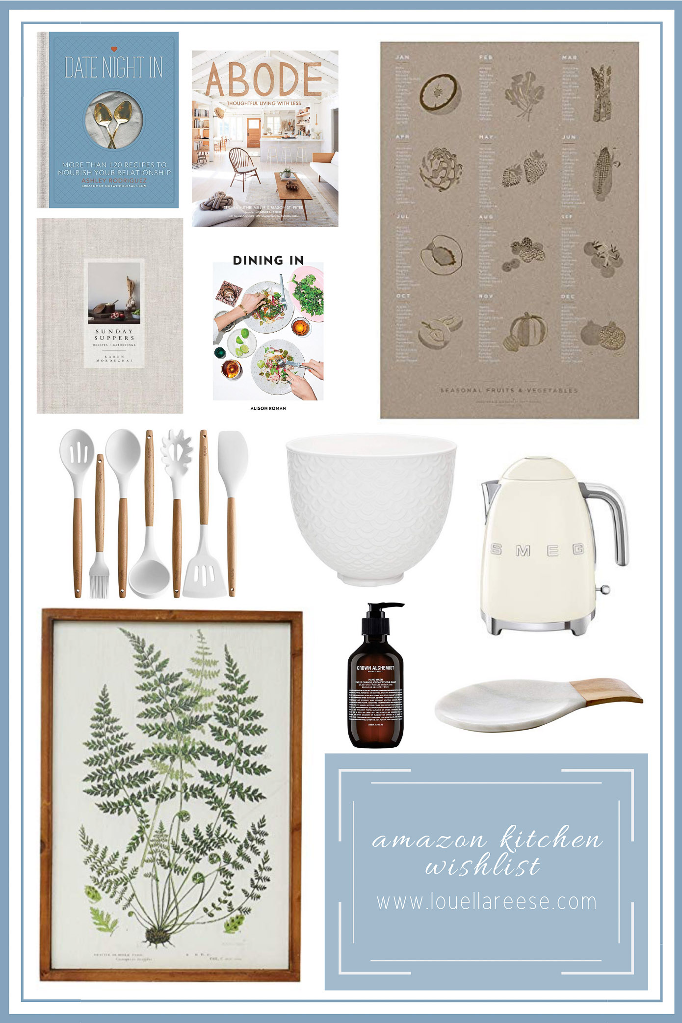 Amazon Kitchen Wish List | Amazon Kitchen Decor Finds | Louella Reese