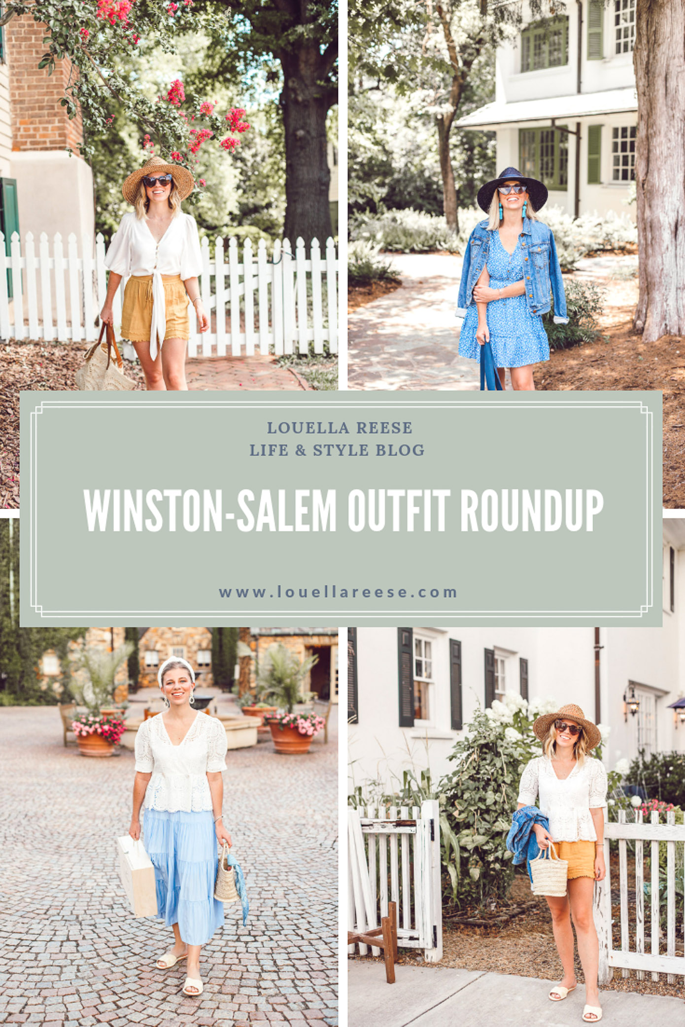 Winston-Salem Outfits - Everything I wore to explore Winston-Salem | Louella Reese