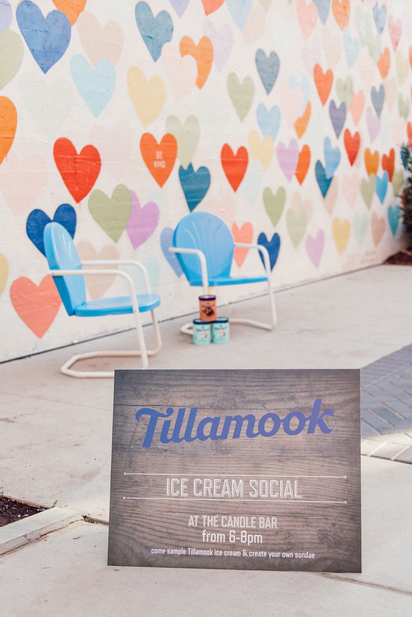 Tillamook Ice Cream Party | Fun Murals in Charlotte, Charlotte Murals | Louella Reese
