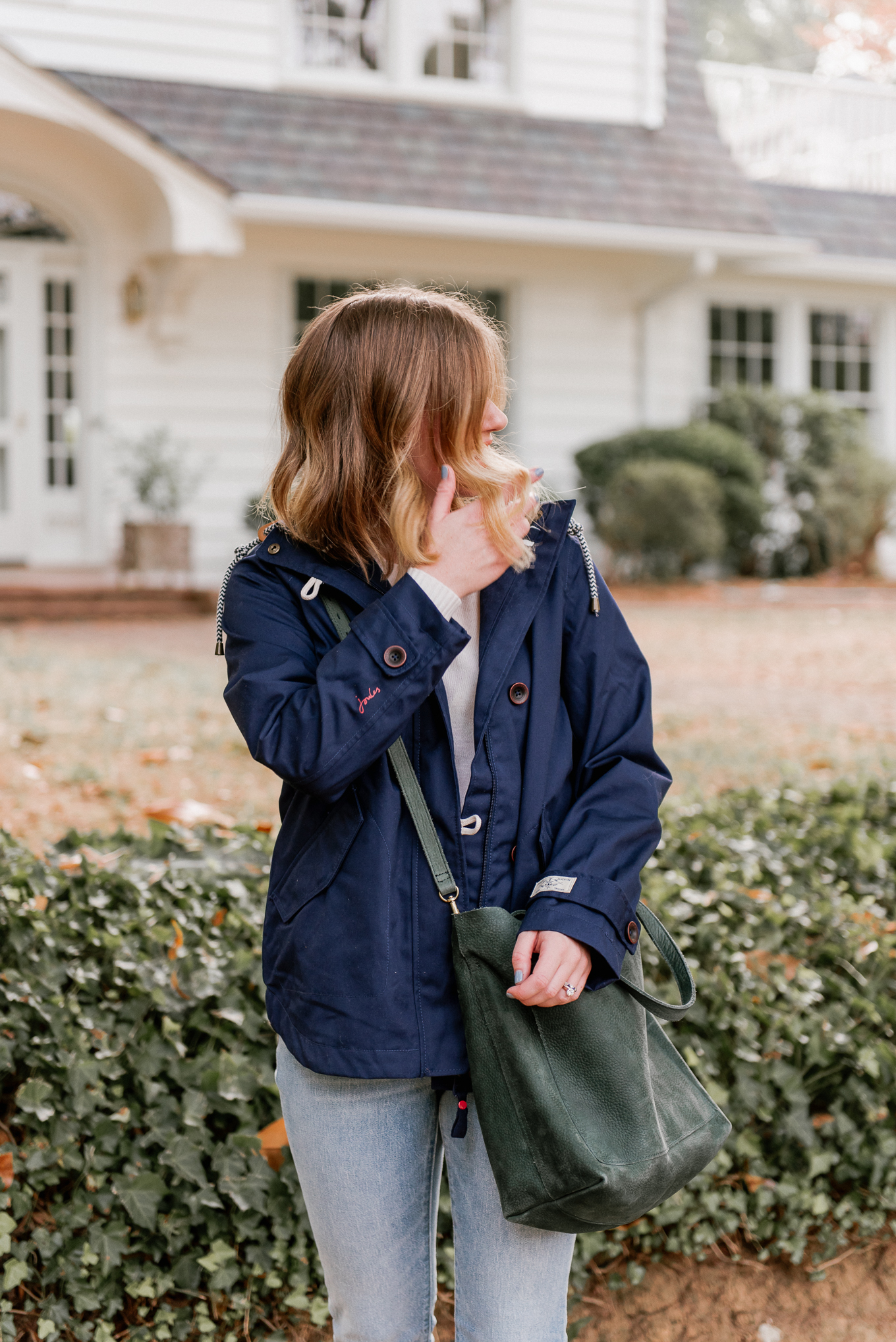 Fall Rain Jacket | The Perfect Medium Weight Rain Jacket | Louella Reese