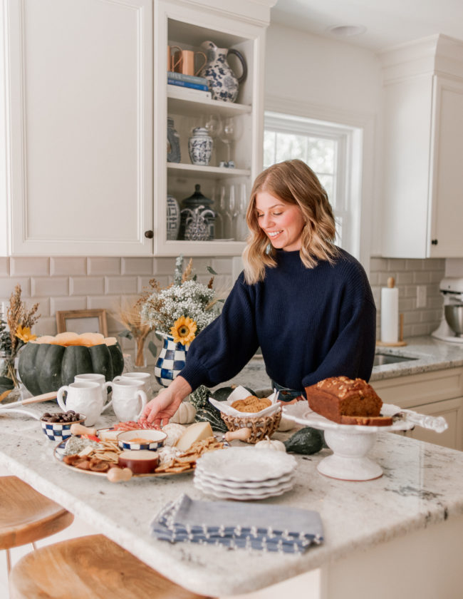 Fall Charcuterie Spread | Fall Entertaining with MacKenzie Childs | Louella Reese