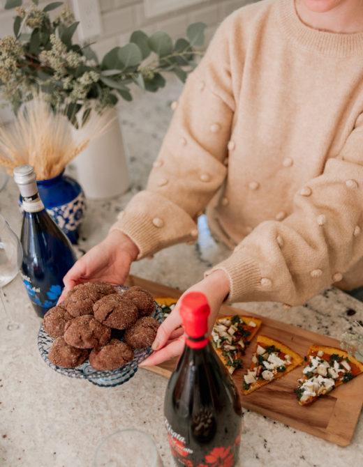 Simple Chocolate Sugar Cookies | Louella Reese