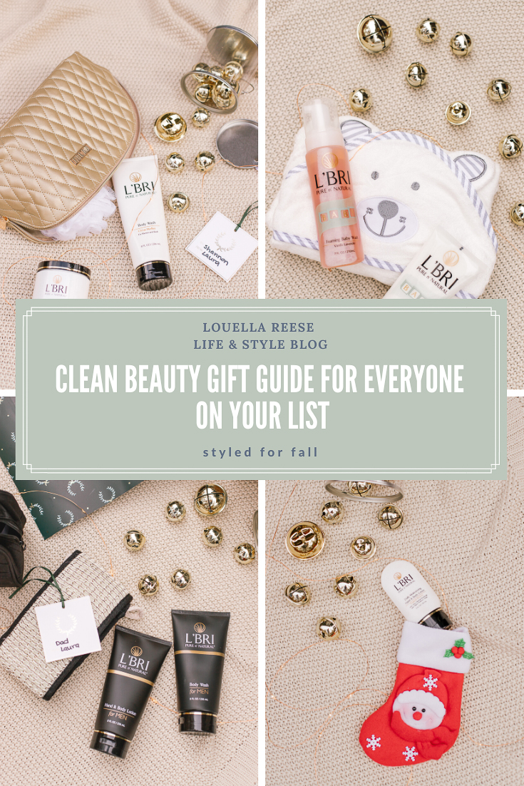 Clean Beauty Gift Guide | 2019 Christmas Gift Guide | Louella Reese