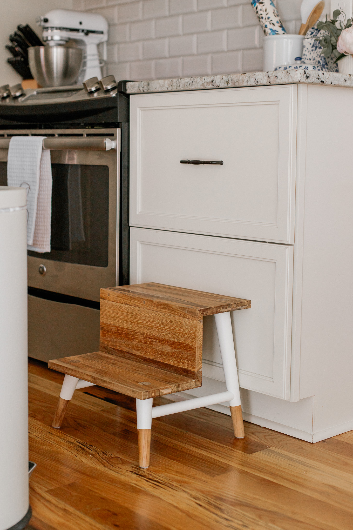 Serena & Lily Thank You Event, Black Friday Sales | Teak Stool for Kitchen and Bathroom | Louella Reese