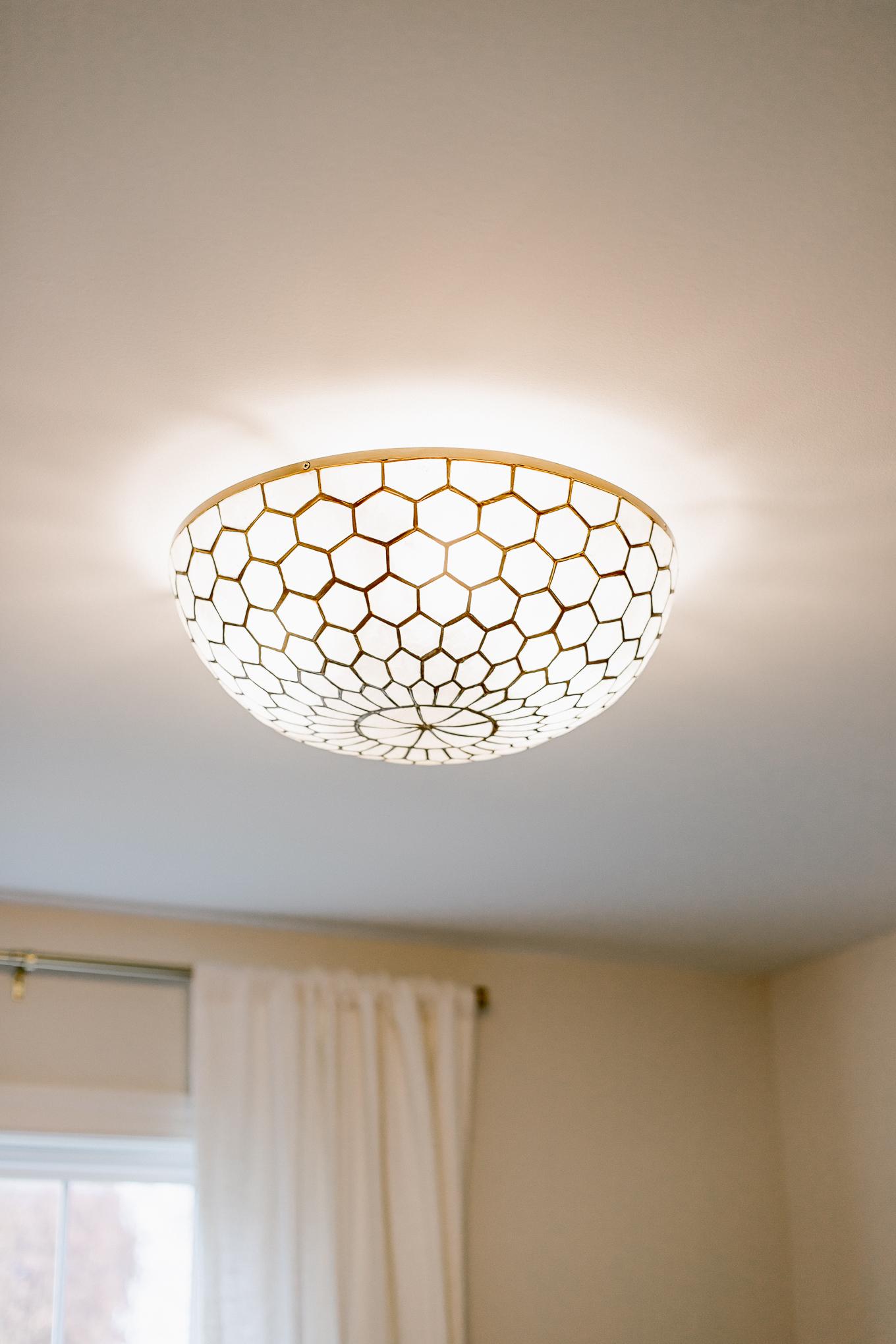 BEAUTIFUL Flush Mount Light, Prettiest Flush Mount for Bedroom or Bathroom | Louella Reese