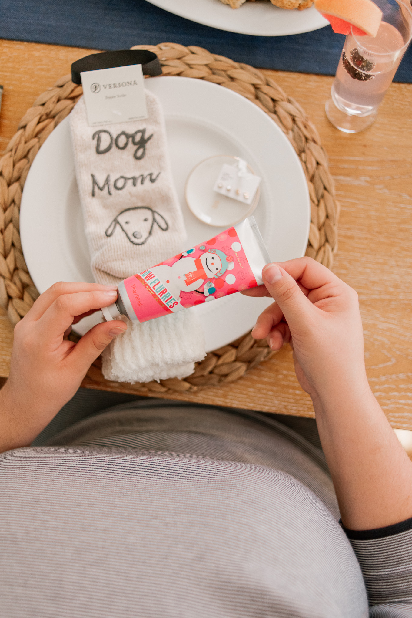 Dog Mom Socks, Dog Mom Slipper Socks | Louella Reese