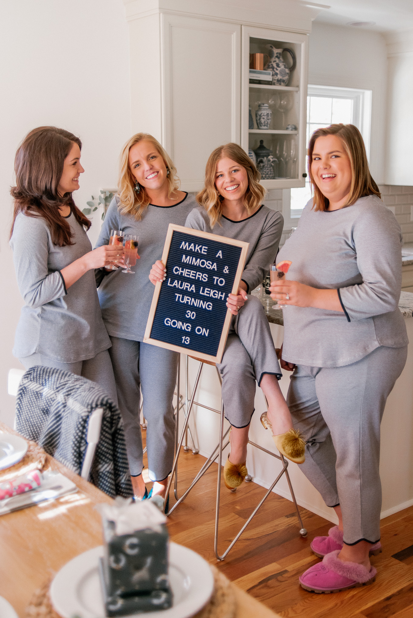 30 Going on 13 Birthday Party | Grown Up Pajama Party | Louella Reese
