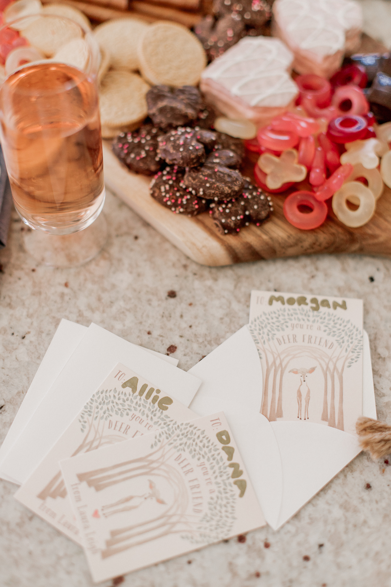 Galentine's Day Cards | Giving Valentine's as an Adult | Louella Reese