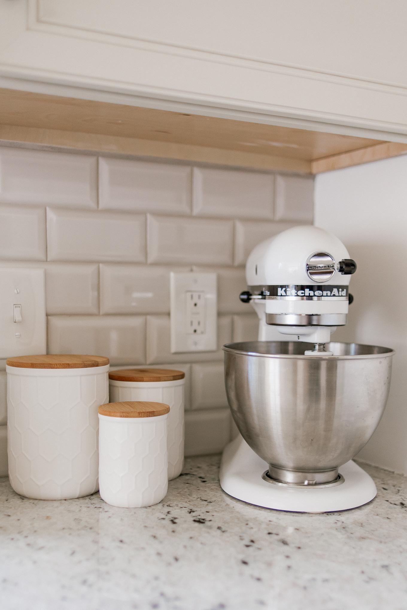 Kitchen Canister Set | White Kitchen Decor | Louella Reese