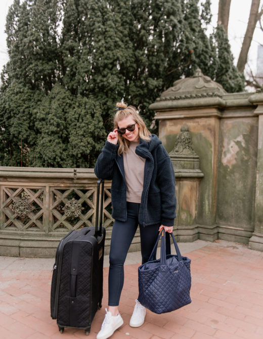 Winter Travel Style, Comfy Travel Style - NYFW 2020, NYFW Packing Tips and Recommendations featured by popular NC fashion blogger Laura Leigh of Louella Reese