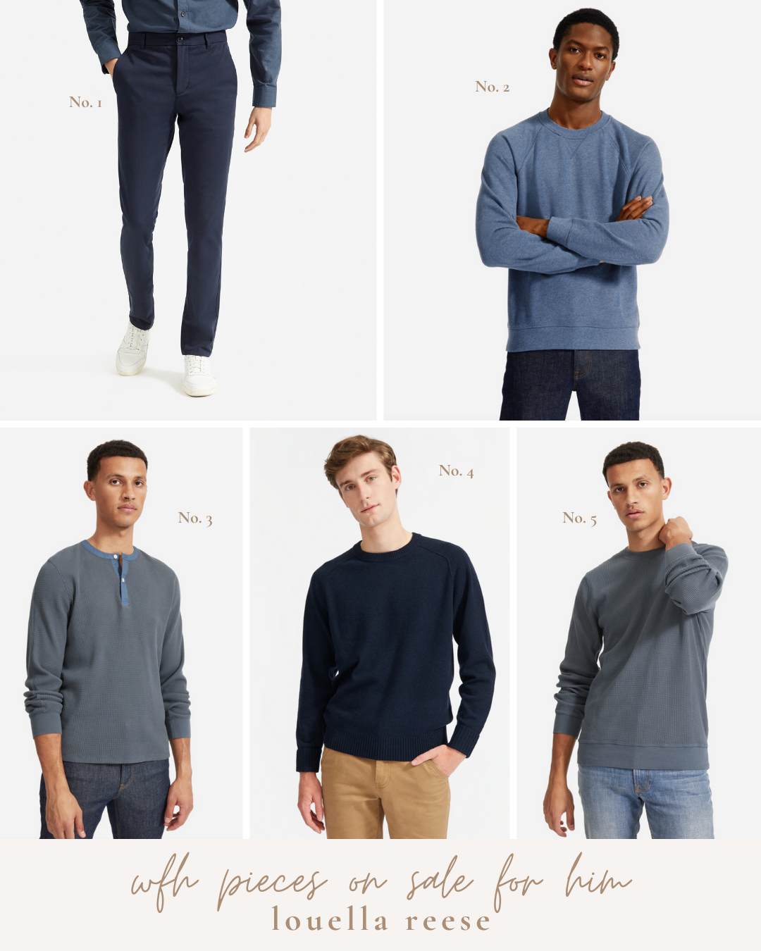WFH Style for Him   Work From Home clothing on Sale   Louella Reese